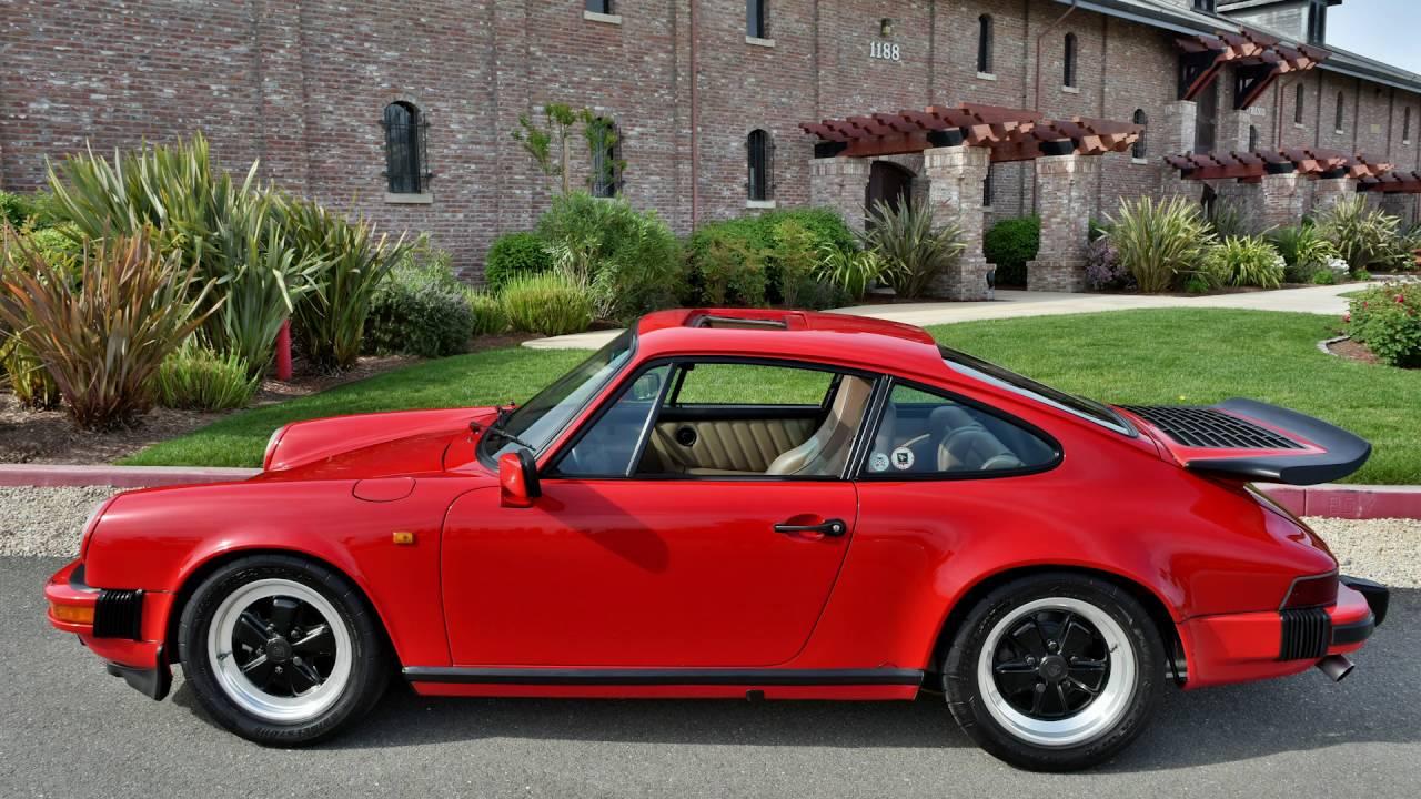1984 porsche 911 carrera red youtube. Black Bedroom Furniture Sets. Home Design Ideas