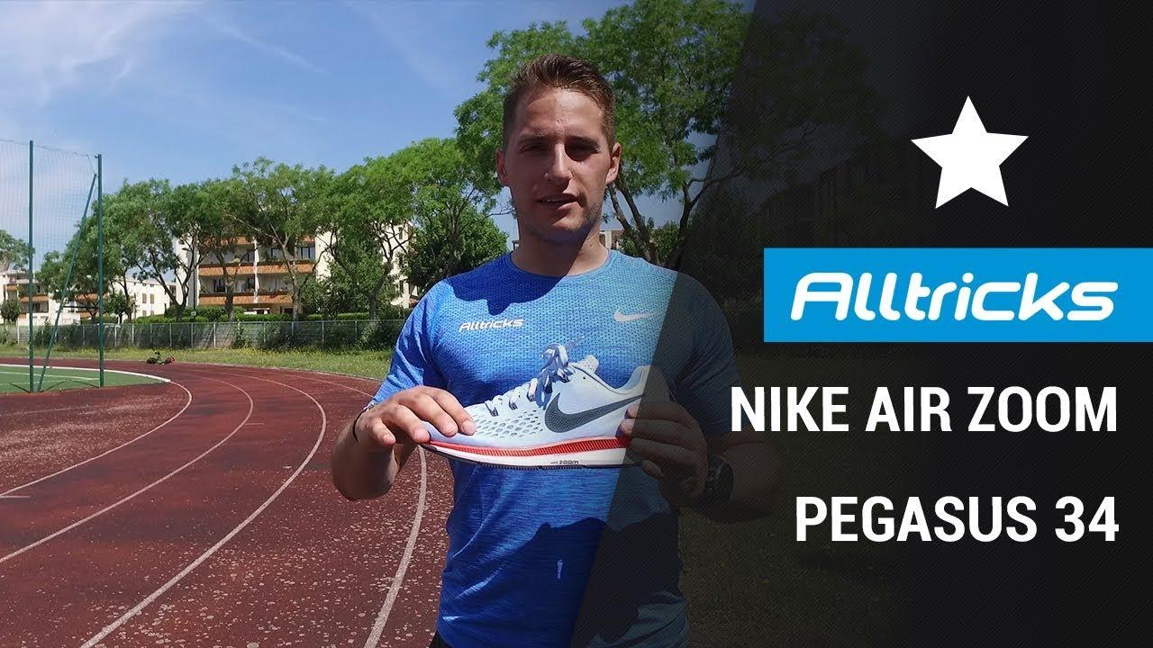 chaussures de sport 924be 711c0 Nike Air Zoom Pegasus 34 - Avis & Impressions