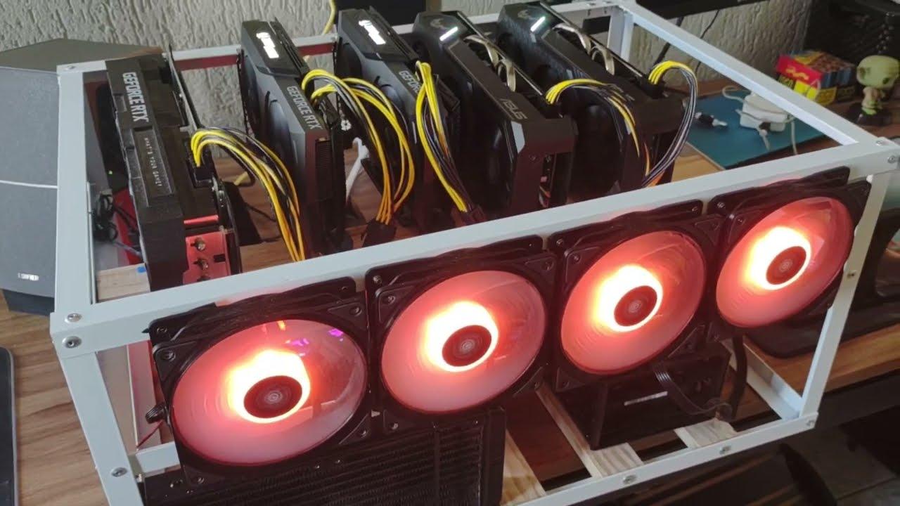 R$3300/mês com RTX 3070, GTX 1660s e RTX 3080 - Resultados de Mineração para Bitcoins na NICEHASH