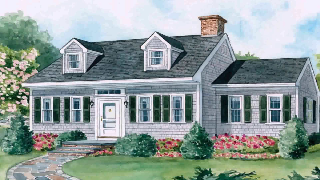 Cape Cod Style House History Youtube