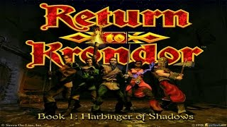 Return to Krondor gameplay (PC Game, 1998)