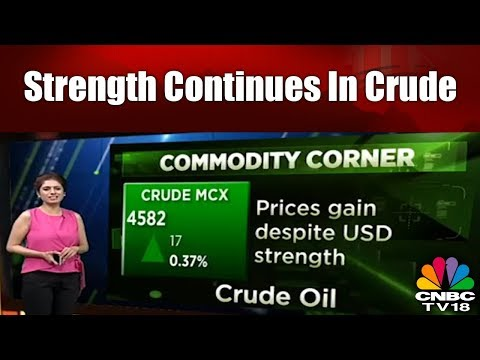 Strength Continues In Crude | MCX Inches Closer to 4,600 | Bazaar Corp Radar | CNBC TV18