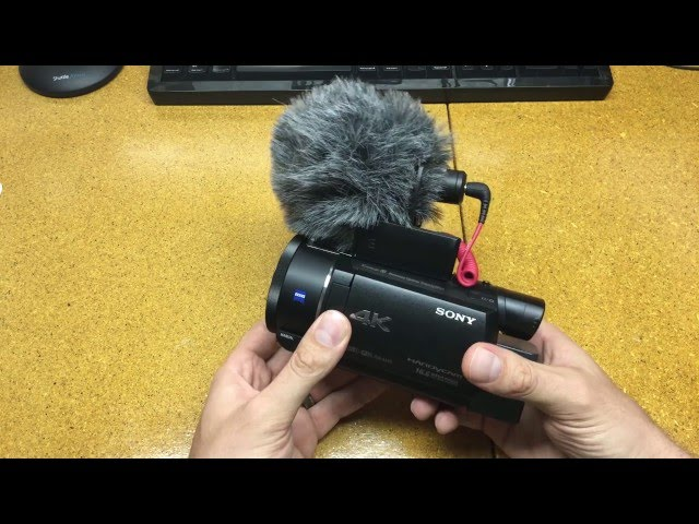 Sony FDR-AX53 Example Footage