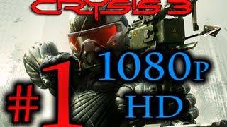 Crysis 3 Walkthrough Part 1 1080p HD - First 90 Minutes!