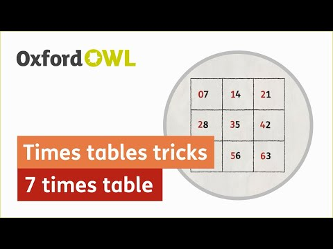 7 times table: tips, advice and resources | 7 times table