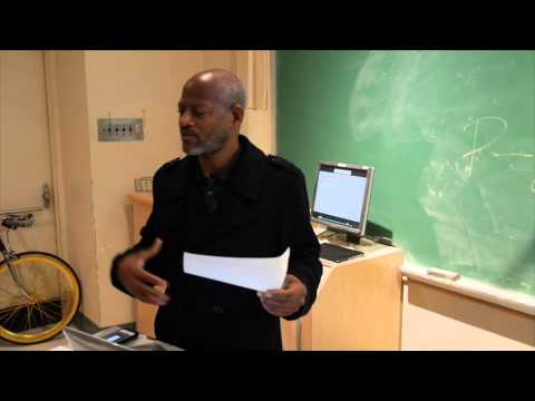 Filmmaker/Activist Tim Alexander Lecturing At University Of California Riverside March 4, 2014