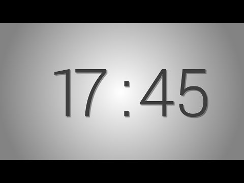 17 Minutes 45 seconds countdown Timer - Beep at the end   Simple Timer. Seventeen min forty-five sec
