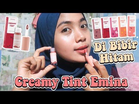 review-creamy-tint-emina-di-bibir-hitam!