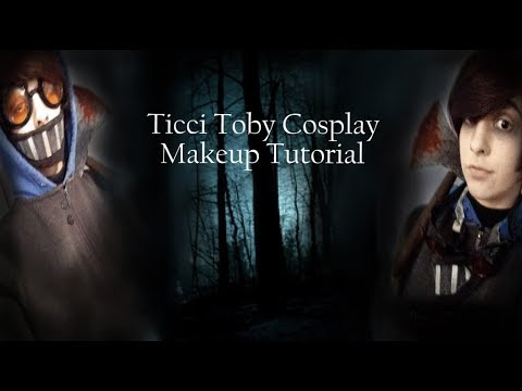 Ticci Toby Cosplay Makeup Tutorial