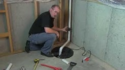 How To Install A Sump Pump - WAYNE Pumps