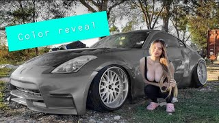 Painting My 350Z Outside...Gone Wrong
