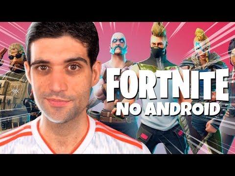 Fortnite de Android COMPLETAMENTE liberado e Cavaleiros do Zodíaco em jogo de luta