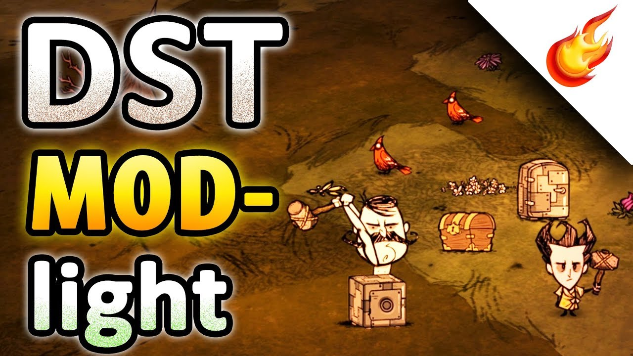 DON'T STARVE TOGETHER – Safe Chest And Safe IceBox – DST MODlight