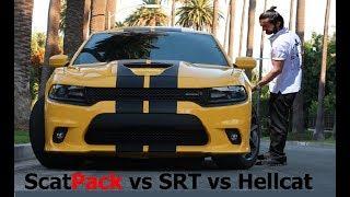 2017-2018 ScatPack R/T vs SRT vs Hellcat !!! / Best Daily Drive???