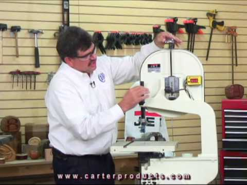 Carter AccuRight™ Ratchet Rod™ bandsaw tension upgrade device