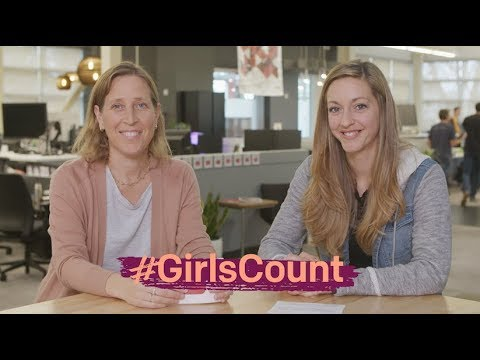#GirlsCount | Susan Wojcicki, CEO of YouTube & Physics Girl - 117,000