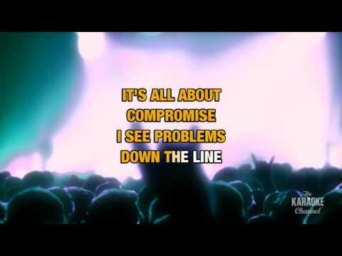Down The Line in the style of José González | Karaoke with Lyrics