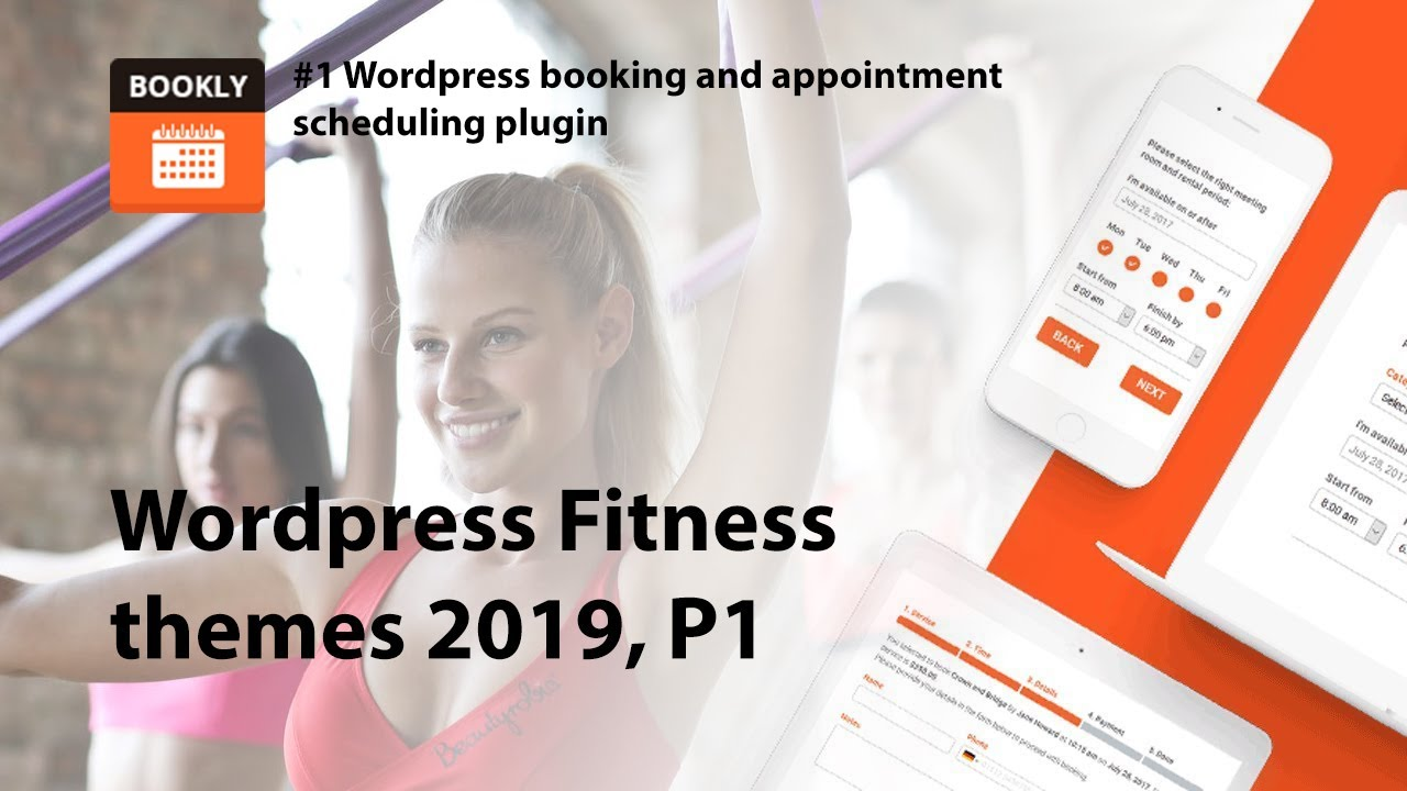 20 Best fitness WordPress themes 2019 picked by Bookly team - Bookly –  Appointment Booking and Scheduling Software System