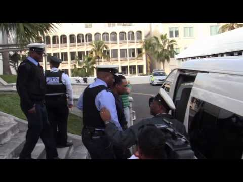 Convicted Spalding Leaves Court Bermuda February 10 2012