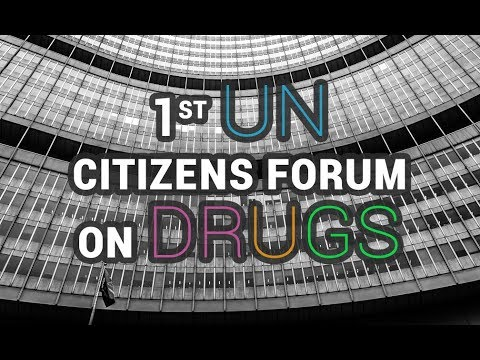 #DRUGS - UN Forum of Citizens on Legal Regulations