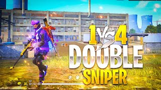 OP Smooth Headshots With AWM Solo Vs Squad Gameplay - Garena Free Fire