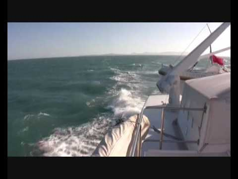 Convoyage d'un yacht du Port Vauban, Antibes à Monaco