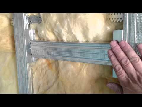 видеоуроки, виды перемычек для стыковки двух листов гипсокартона. Rigips.