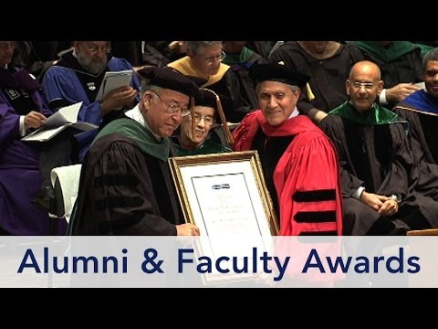 Commencement 2014, 3 of 7: Alumni and Faculty Awards