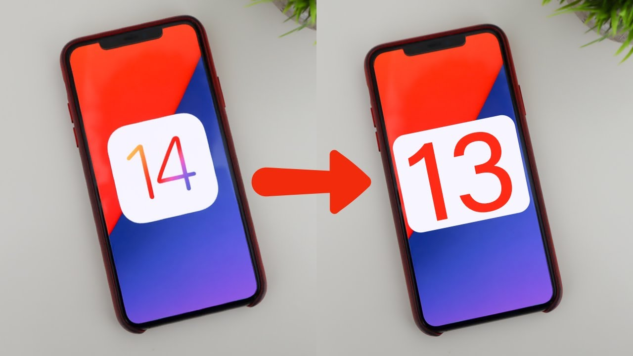 iOS 14'ten iOS 13'e Nasıl Dönülür?