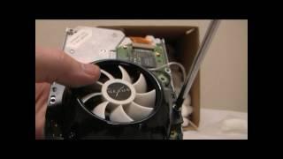 Nexus Frizzbee Inaudible Hard Drive Cooler Box Opening