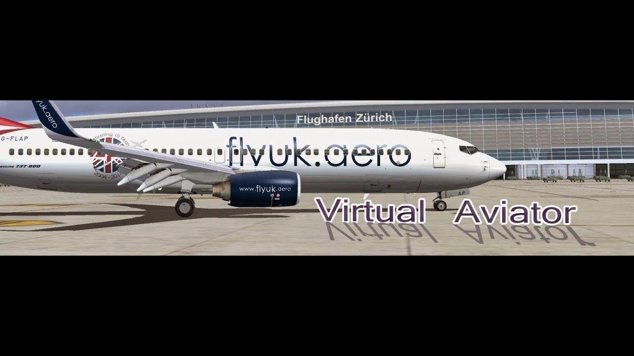 FSX PMDG 737NGX Oslo to Heathrow (FLYUK) - VATSIM