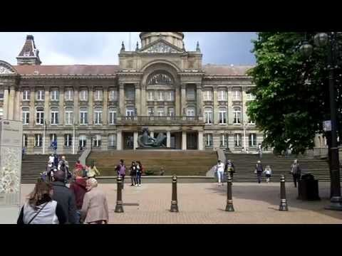 Victoria Square and the Town Hall, Birmingham