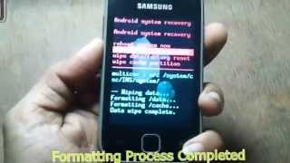 GALAXY Y(S5360 &  S6102) HARDWARE & SOFTWARE RESET