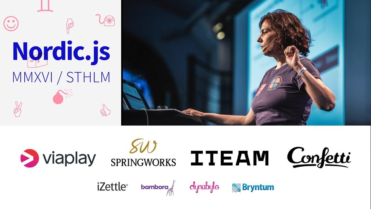 Nordic js 2016 • Nicole Rauch - Event Sourcing a Node js Application