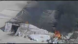 Chemical Plant Explosion In Hood County, Texas