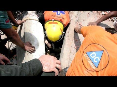 Investigan en Colombia colapso de edificio que dejó 10 muertos