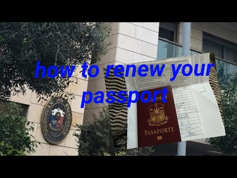 Requirements In Renewing Passport In Philippine Embassy Israel