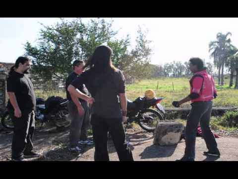Spielvan visita Bagé - Os bastidores