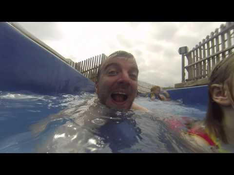 Butlins Skegness: NEW Outdoor River Rapids 2015 (Splash Waterworld - HD POV)