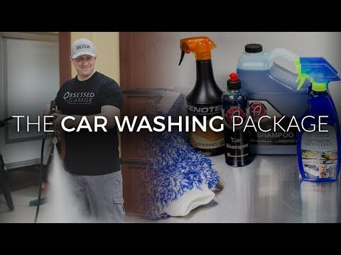 Obsessed Garage Car Washing Package