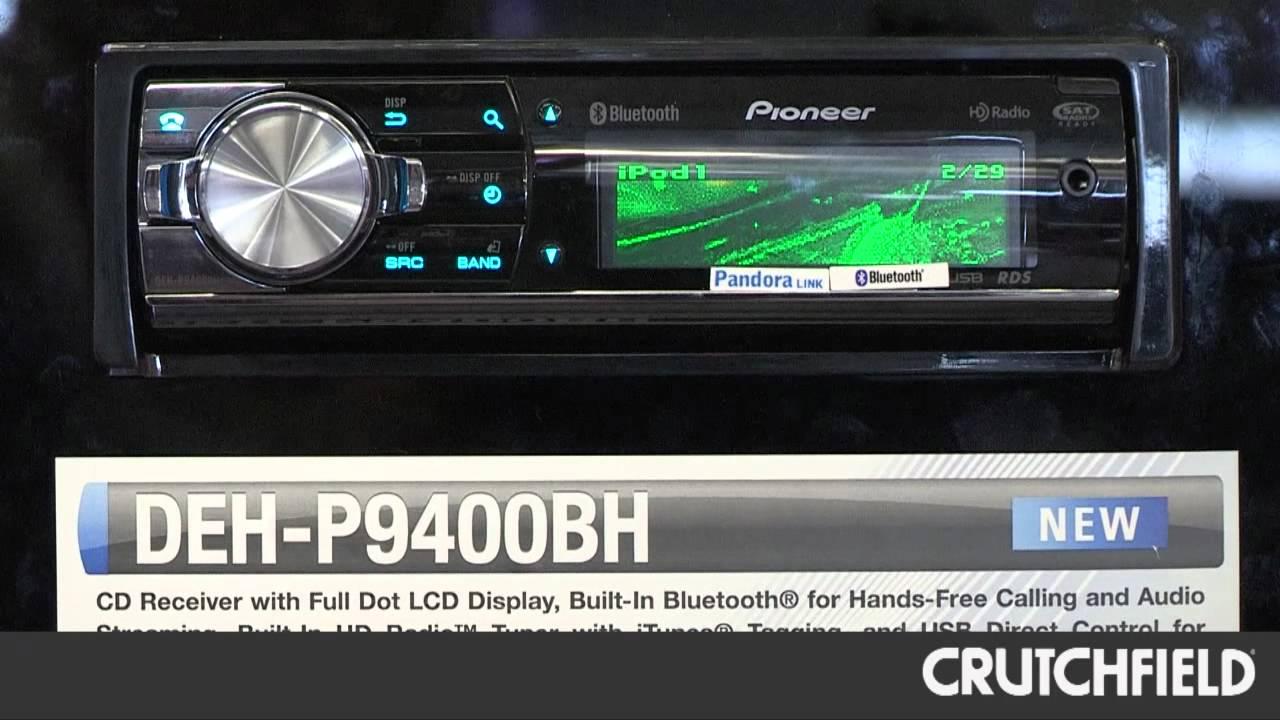 Pioneer DEHP-8400BH & DEHP-9400BH Car Receivers Overview | Crutchfield Video