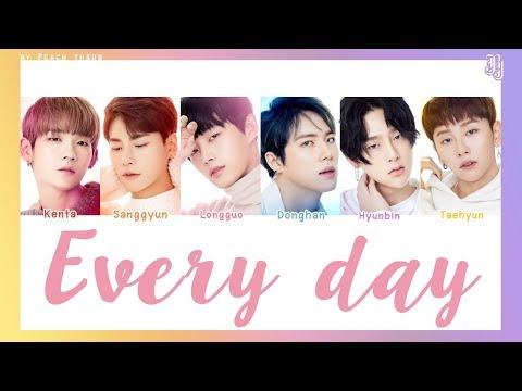 [COLOR CODED/THAISUB] JBJ - Everyday #พีชซับไทย