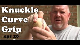 knuckle curve grip   mckinney baseball   pitching tips   eps 20