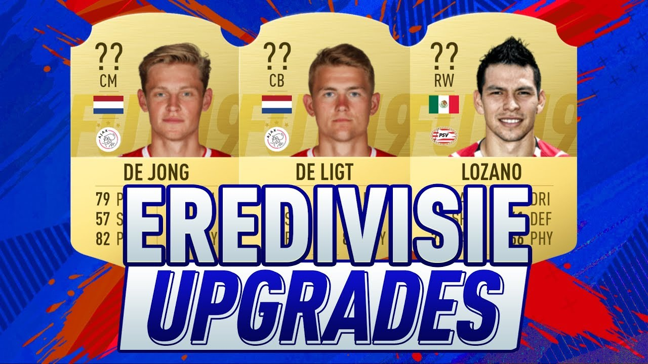 FIFA 20 | DE BESTE UPGRADES VAN DE EREDIVISIE IN FIFA 20 | FIFA RATING PREDICTION