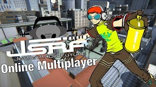 Trying Jet Set Radio Online with AlexaCat (JSRF Multiplayer Remake)