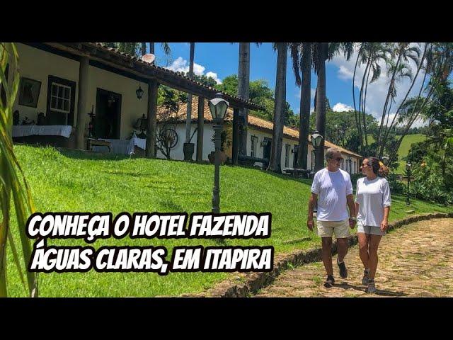 Conheça o Hotel Fazenda Águas Claras, em Itapira