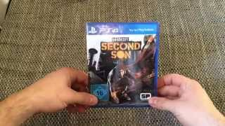 PS4 - InFamous Second Son Unboxing