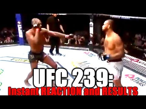 UFC 239: Reaction and Results