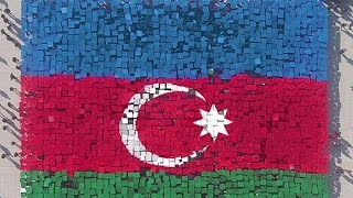 National Flag Day in Azerbaijan & Baku 2015 Games - no comment