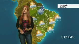 Previsão Brasil - Mais temporais no BR